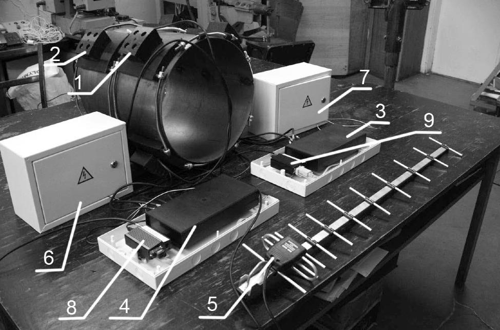 Загальній вигляд системи моніторингу напруженого стану магістральних трубопроводів