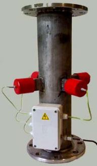 Ультразвукова проточна кавітаційна камера для гідролізу - екстракції  пектину з рослинної сировини