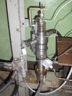 Лабораторний зразок мультиплікатора тиску
