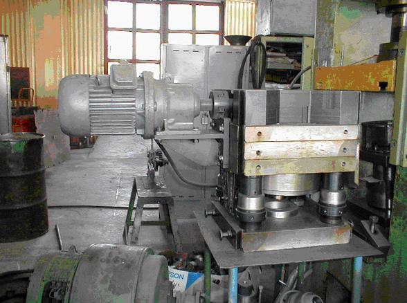 Зовнішній вигляд блока для штампування обкочуванням БШО-30/280