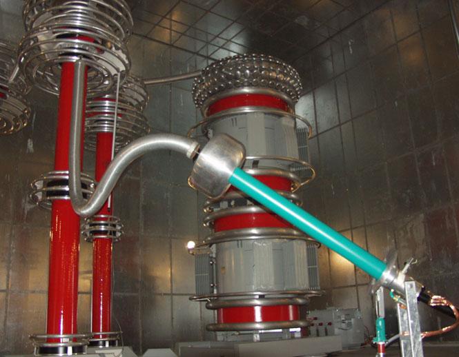Енергоефективна установка для випробувань надвисоковольтних кабелів