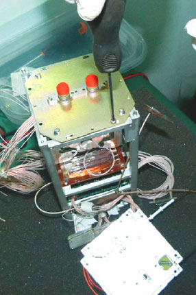 Монтаж корисного  навантаження FIPEX  наносупутника POLYITAN-2-SAU