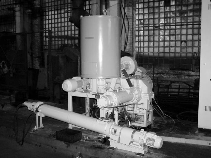 Черв'ячно-роторний диспергатор-екструдера ДЕКЧЕР-150