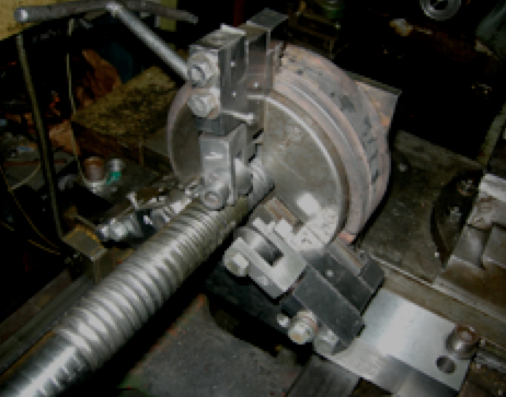 процес обкочування трьохзахідної гвинтоподібної труби