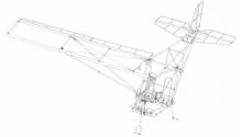 Конструктивно-силова схема легкого літака SkyRanger