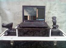 Рис.1. Лабораторний зразкок системи дистанційного керування БПЛА