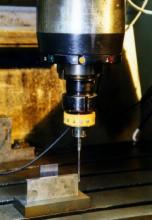 Вимірювання люфта координатних рушіїв верстата за допомогою вимірювальної головки М-17 та плитки Йогансона