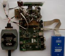 Макет дворівневої системи контролю вібрації