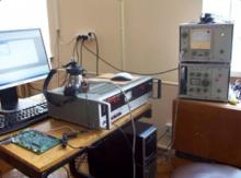 Робоче місце для визначення метрологічних характеристик макета DSP аудіометричного тракту на основі комплексу типу 22С фірми RFT