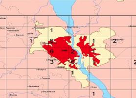 Розташування деяких брудних виробництв у Києві (початкова кількість)
