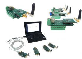 Макети радіотерміналів, які можуть бути об'єднані в радіомережу із самоорганізацією
