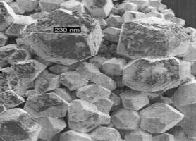 Електронна мікрофотографія електроосадженого кремнію
