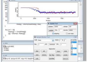 Результати моделювання в середовищі  OpenBUGS