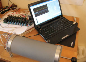 Макет лабораторного зразка програмно-апаратного комплексу  для діагностики стану серцево-судинної системи людини