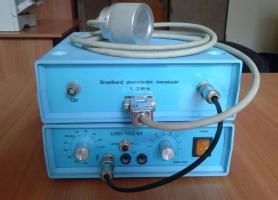 Макет широкосмугового ультразвукового фізіотерапевтичного приладу