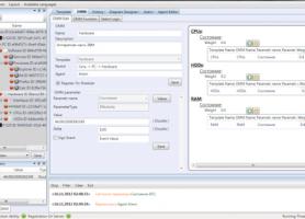 Екрани редагування зв'язків станів та відображення структури мережі  системи управління функціонуванням ІТС