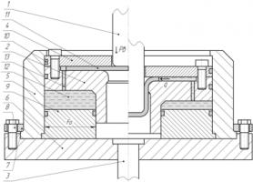 Спосіб та конструкція штампу для витягування з диференційованим радіальним підпором фланця заготовки