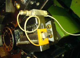 Двопараметричний відчутник комплексу, встановлений в складі металообробного CNC верстата