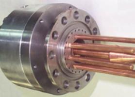 Розрядний пристрій магнітоплазмового компресора
