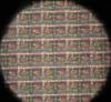 фрагмент топології макетного зразка чипа пам'яті